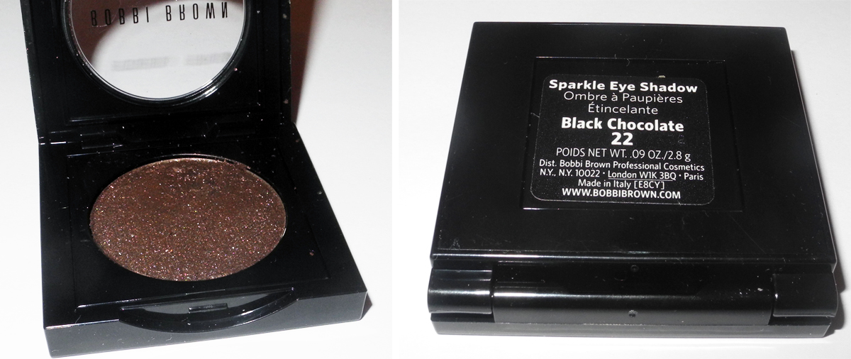 Bobbi Brown Sparkle Eye Shadow In Black Chocolate Review And