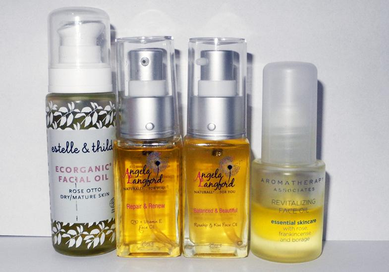 Oils for Face Estelle & Thild, Angela Langford, Aromatherapy Associates