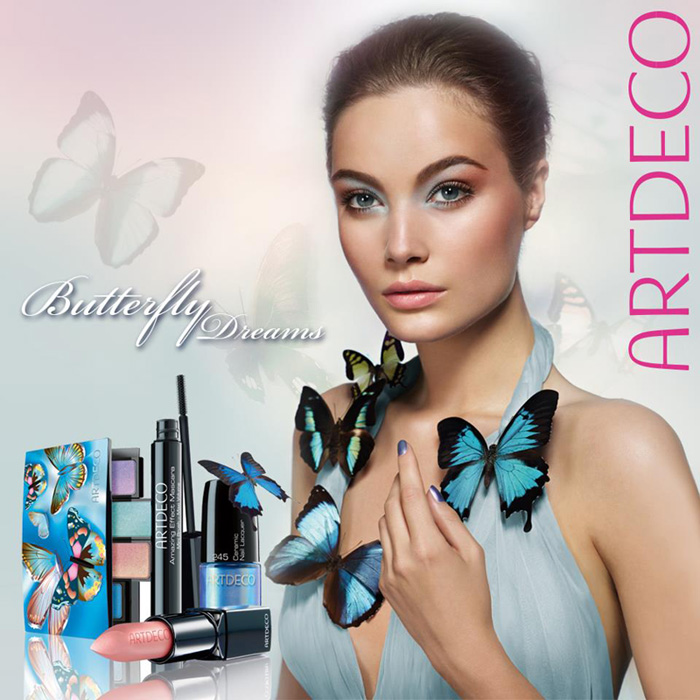 artdeco butterfly dreams makeup collection for spring 2013 makeup4all. Black Bedroom Furniture Sets. Home Design Ideas