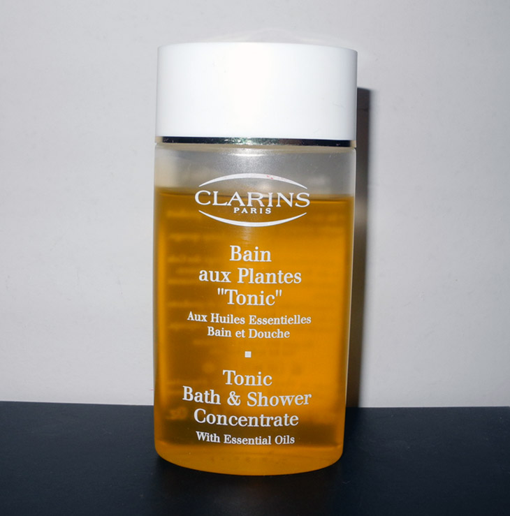clarins tonic bath amp shower concentrate review makeup4all clarins tonic bath and shower concentrate with essential