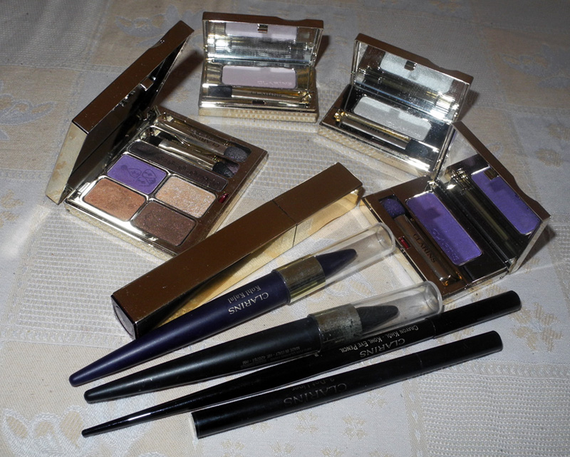 Clarins Show Us Your Clarins eye products Makeup4all