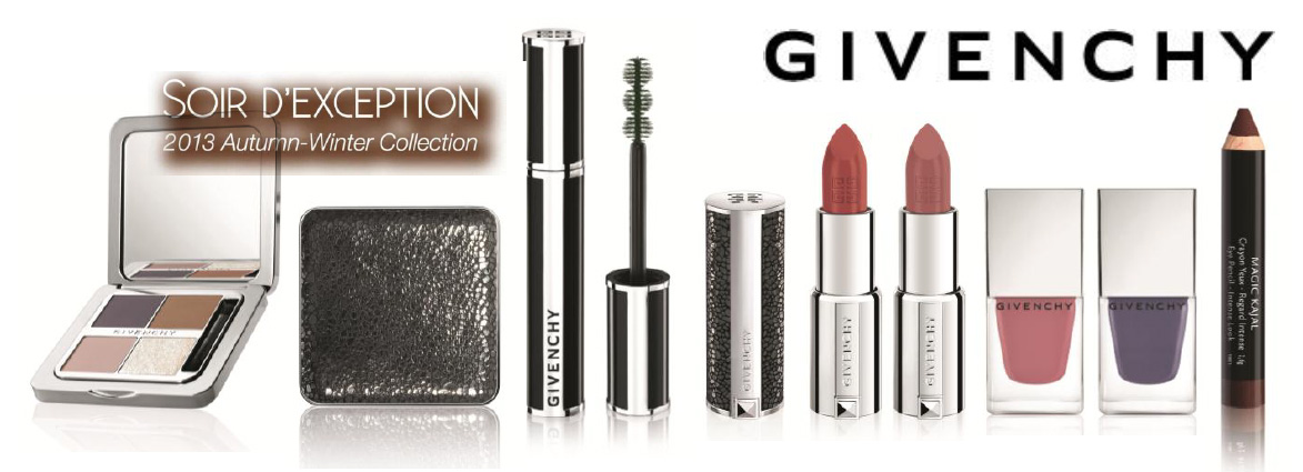 Givenchy Soir D'Exception Makeup Collection for Autumn 2013 promo makeup4all