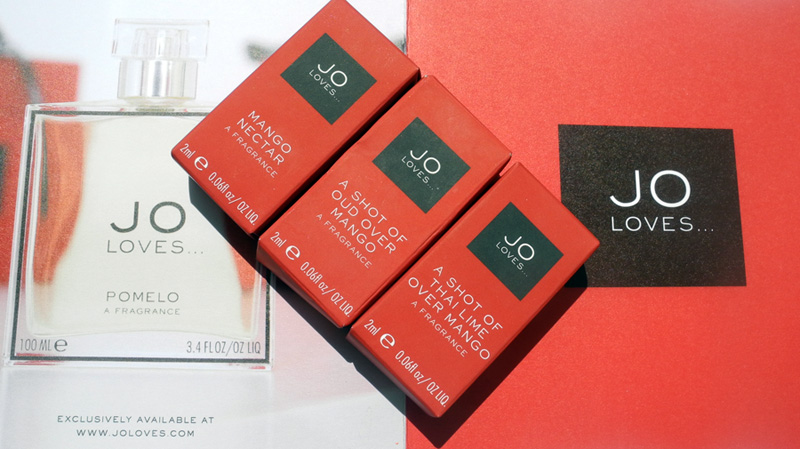 Jo Loves Mango Fragrance Collection Review