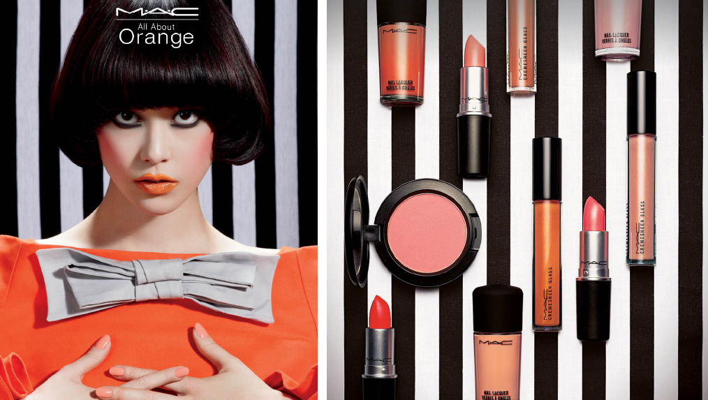 MAC Cosmetics All About Orange Makeup collection for summer 2013