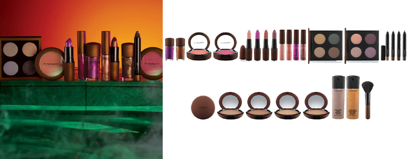 MAC Cosmetics temperature Rising Makeup Collection for Summer 2013 products