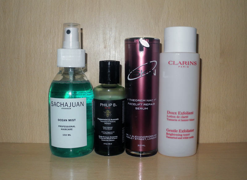 May Beauty Favourites SachaJuan, 111Skin,  Clarins, Philip B
