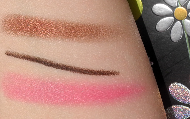 My Top 5 Favourite Beauty Products From Daniel Sandler Cosmetics swatches