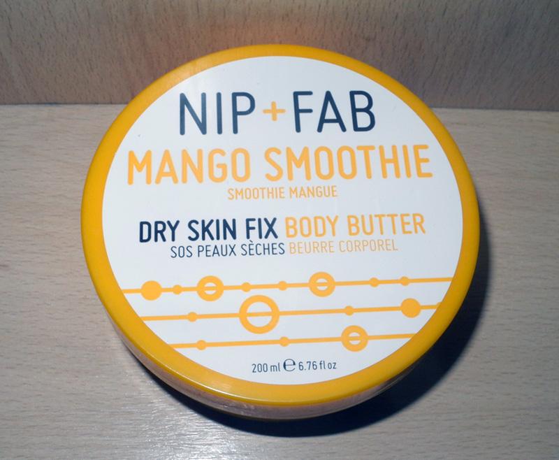 Nip+Fab Mango Smoothie  Dry Skin Fix Body Butter Review