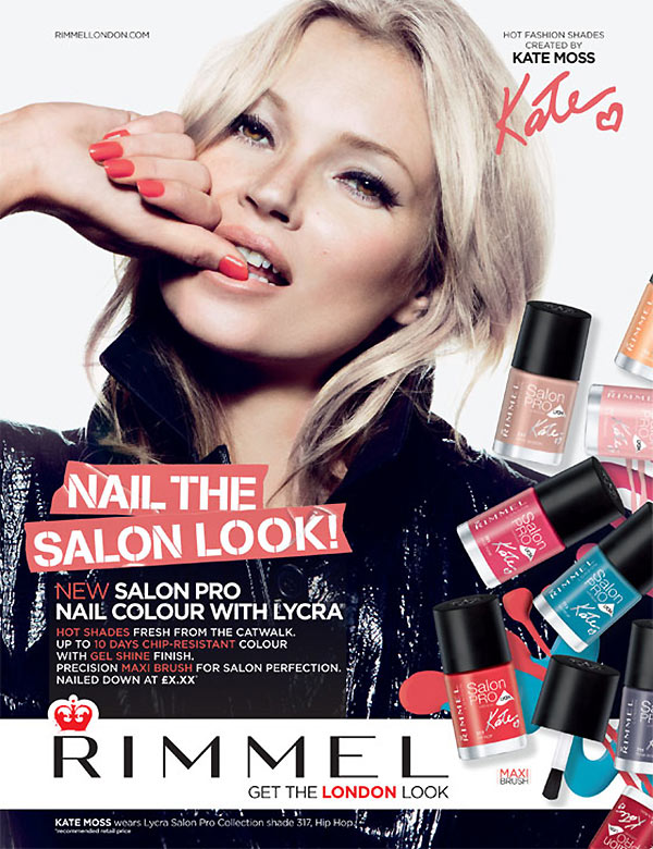 Rimmel Salon Pro Nail Polish Kate Moss