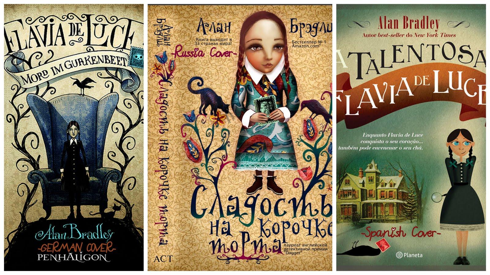 Alan Bradley Flavia de Luce books