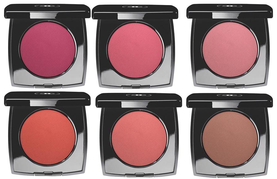 Chanel Le blush Creme de Chanel fall 2013 all shades