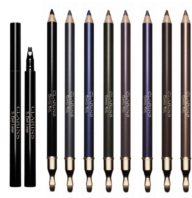 Clarins-Graphic-Crayon Khol-and - 3-dor-liner-Fall-2013