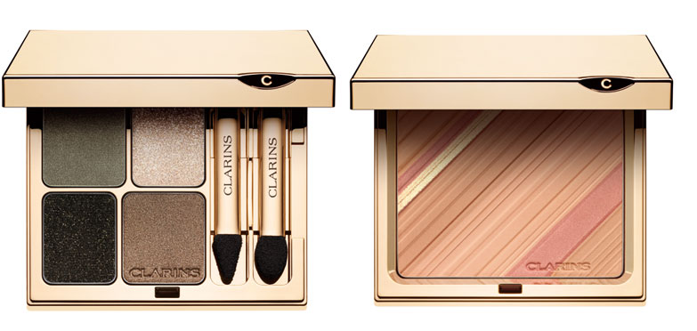 Clarins-Graphic-Expressions-Face-and-Blush-Powder-and-eye-palette-Fall-2013