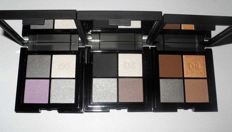 Daniel Sandler Cosmetics eye shadow quads