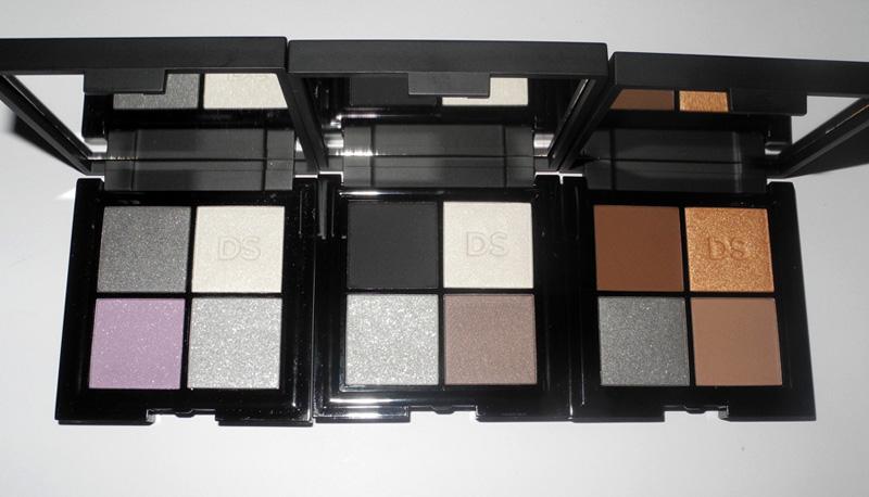 Daniel Sandler Cosmetics eye shadow quads