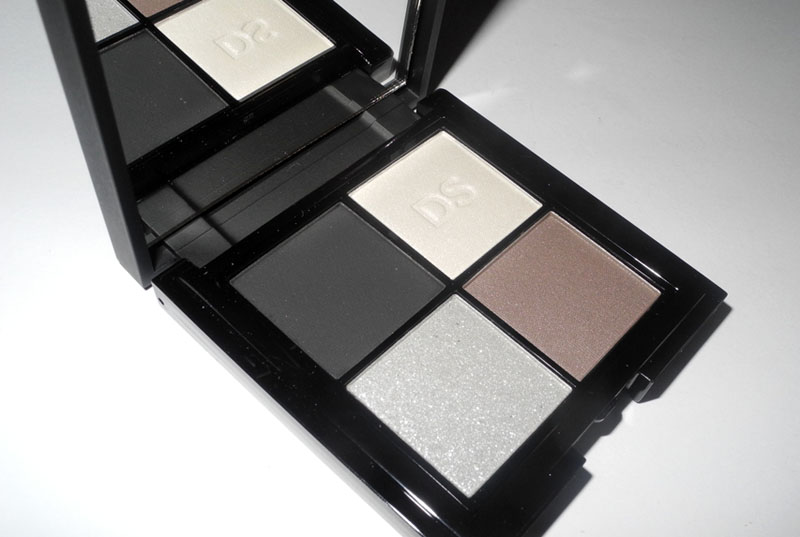 Daniel Sandler Eye Shadow Quad in Scandal at Midnight Review and Swatches 1