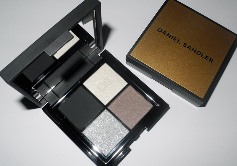 Daniel Sandler Eye Shadow Quad in Scandal at Midnight Review and Swatches