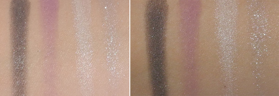 Daniel Sandler Eye Shadow Quad in Sheer Beauty Review and Swatches 2