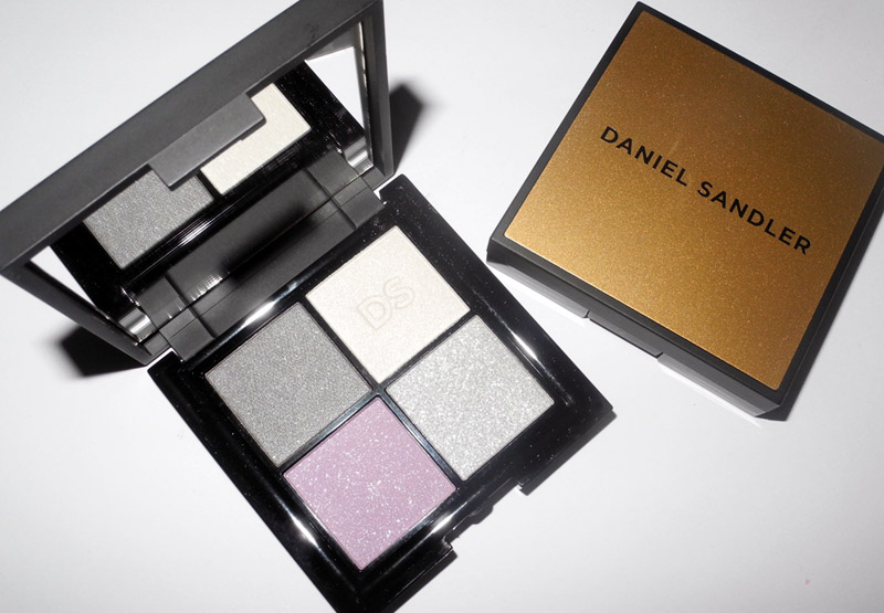 Daniel Sandler Eye Shadow Quad in Sheer Beauty Review and Swatches