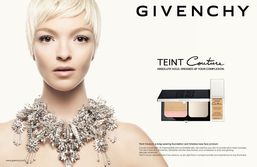 Givenchy Teint Couture Long-Wearing Fluid Foundation and Long-Wearing Compact for Fall 2013