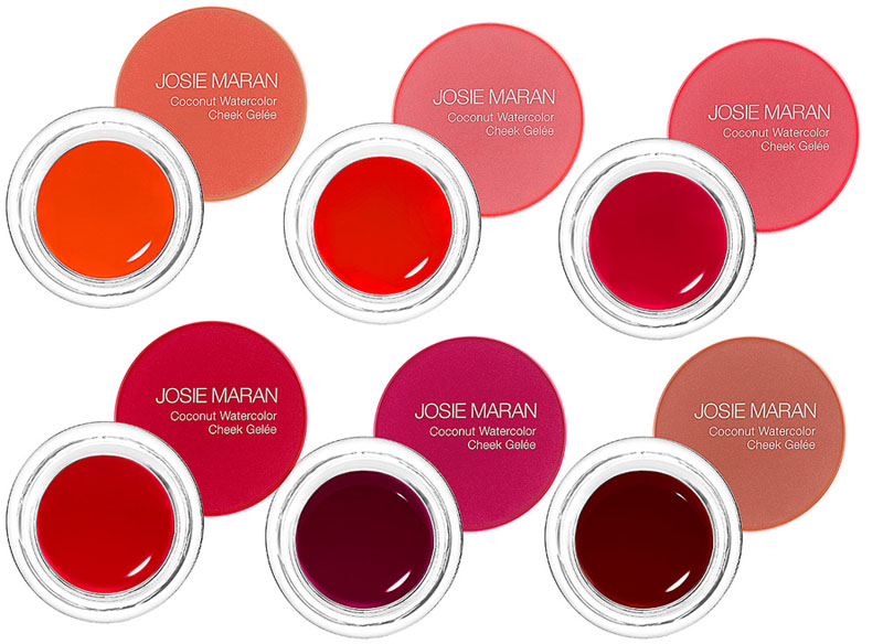 Josie Maran Coconut Watercolor Cheek Gelee shades