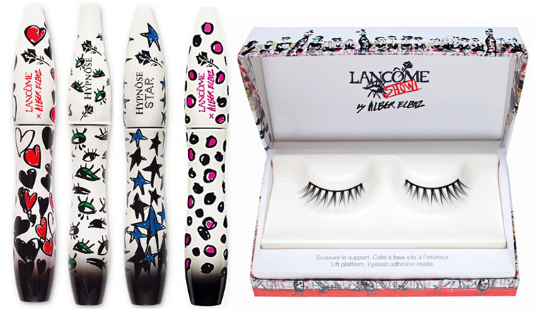 Lancome  Alber Elbaz Show makeup collection mascaras and eye lsahes