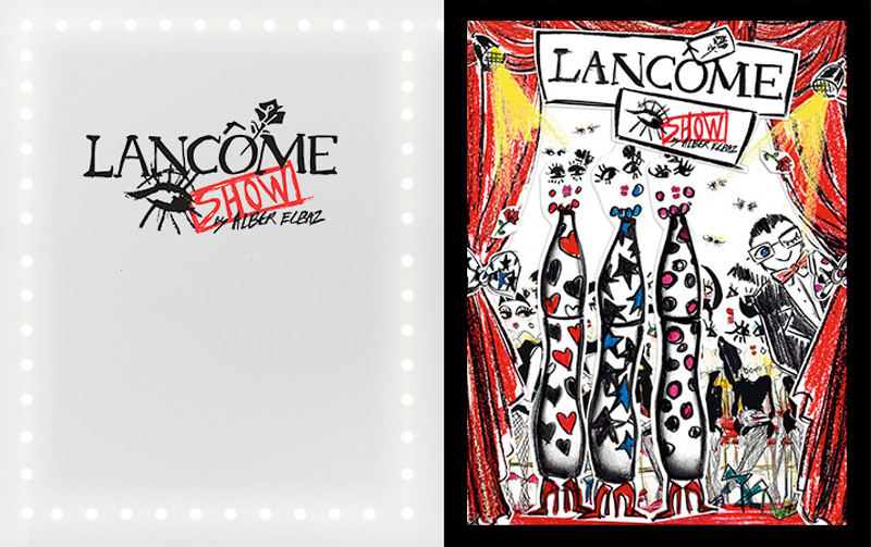 Lancome  Alber Elbaz Show makeup collection