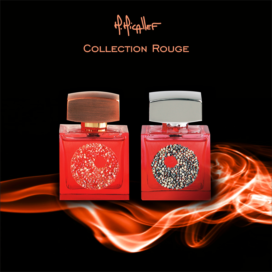 M.Micallef Art Collection ROUGE N°1 and ROUGE N°2
