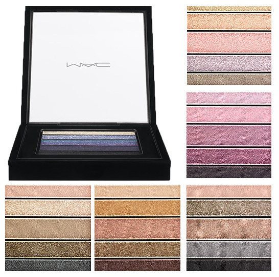 MAC Cosmetics Veluxe Pearlfusion Eye Shadows Palettes Summer 2013 shades