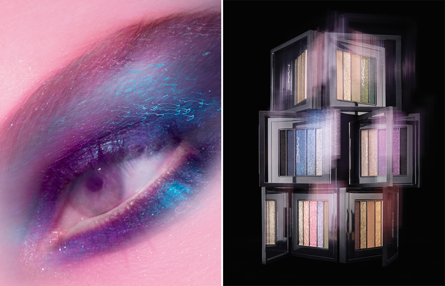MAC Cosmetics Veluxe Pearlfusion Eye Shadows Palettes Summer 2013