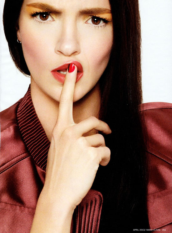 Mariacarla Boscono Beauty Inspiration Makeup4all 7
