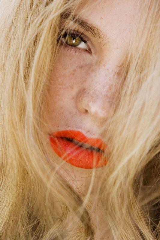 orange lips makeup inspiration