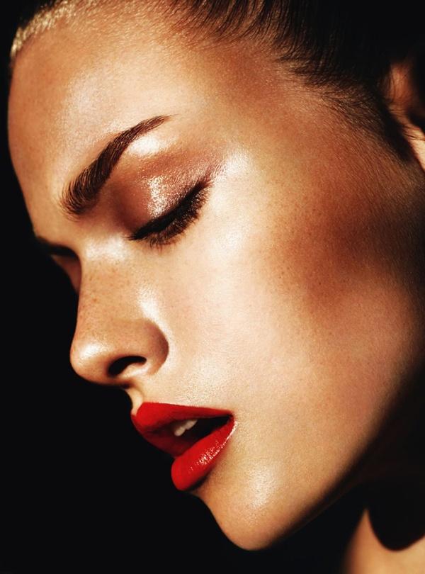 red lips makeup inspiration