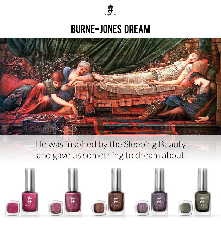A England Burne-Jones Nail Polish Collection