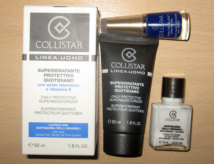 Collistar Men's Cream and gel nail polish