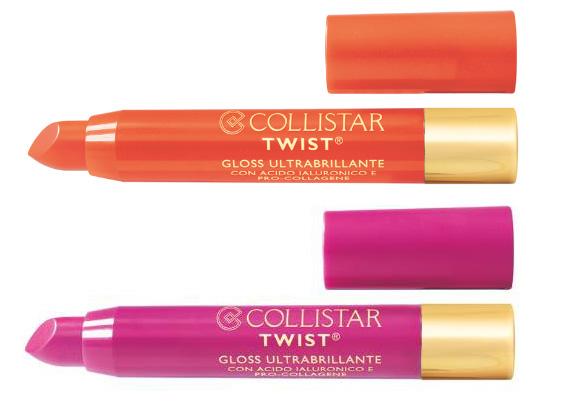 Collistar Twist Gloss Ultrabrillante Arancio and Magenta