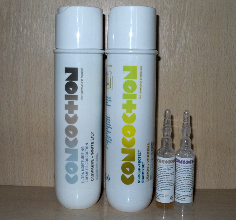 Concoction Hair Care Review Shampoo, Serums and Conditioner
