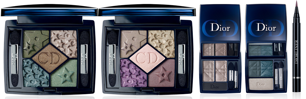 Dior Mystic Metallics Makeup Collection for Fall 2013 eyes