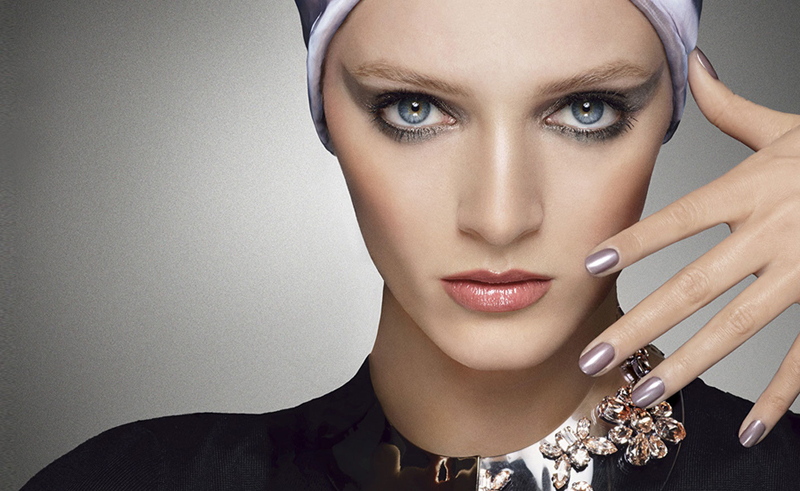 Dior Mystic Metallics Makeup Collection for Fall 2013 promo