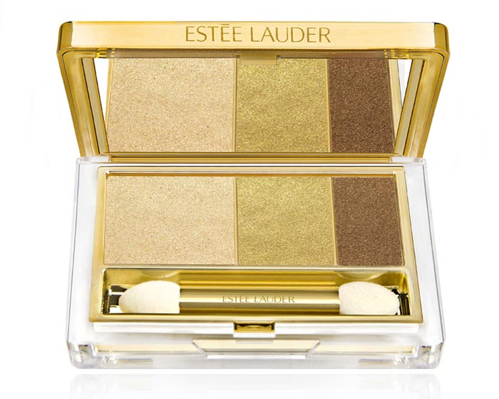 Estee lauder Pure Color Instant Intense EyeShadow Trio in Gilded Chocolates fall 2013