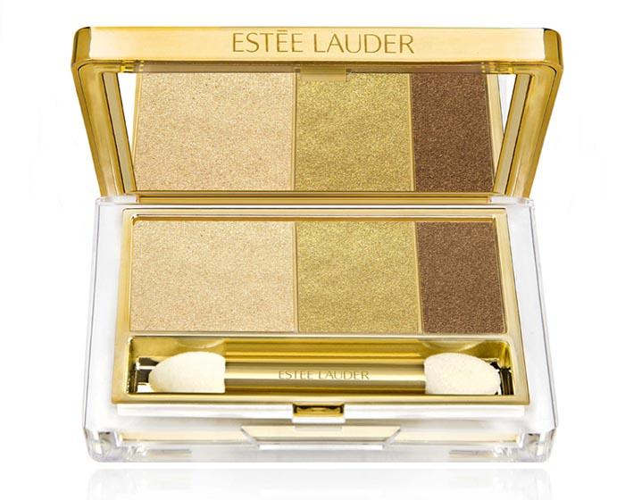Estee lauder Pure Color Instant Intense EyeShadow Trio in Gilded Chocolates fall 2013