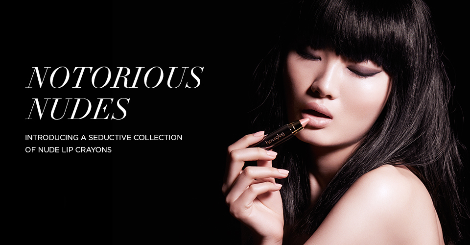 Hourglass Cosmetics Femme Nude Lip Stylos for Fall 2013 promo