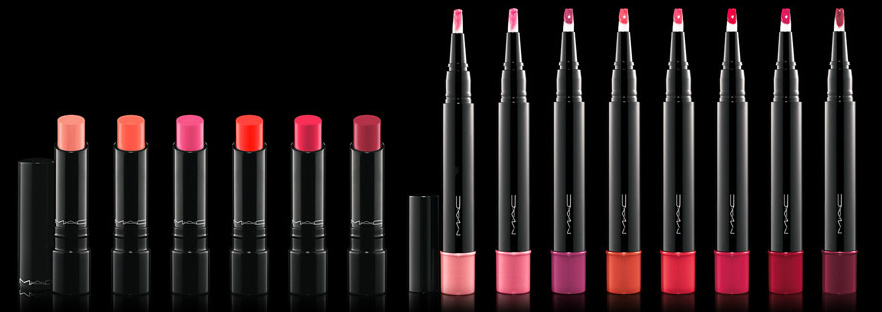 MAC Cosmetics Sheen Supreme Colection  lip glosses and lipsticks summer 2013