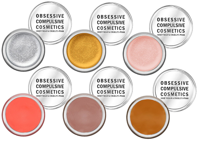Obsessive Compulsive Cosmetics Crème Colour Concentrate shades