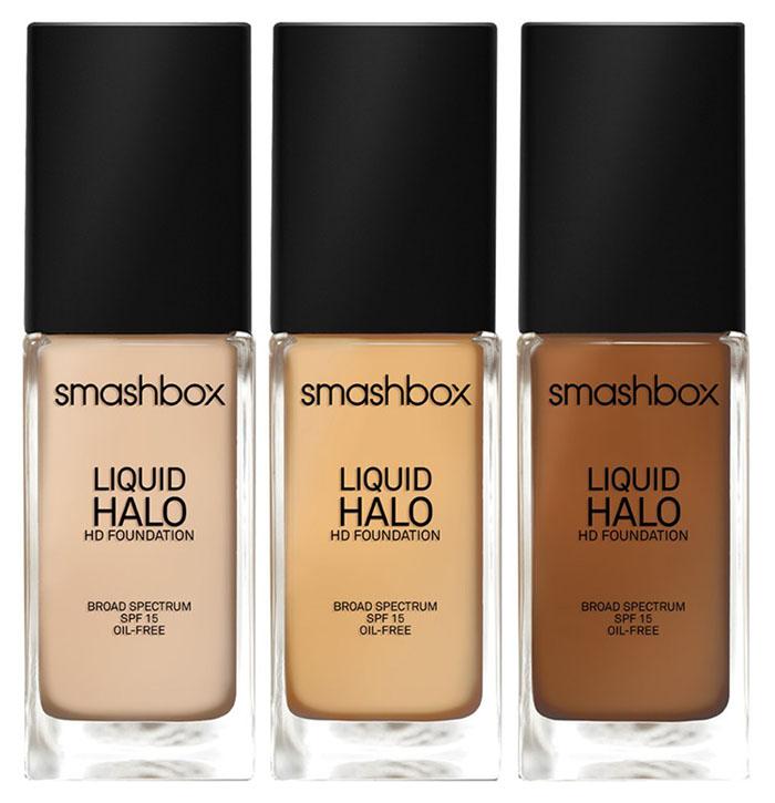 Smashbox 'Liquid Halo' HD Foundation Broad Spectrum SPF 15  shades