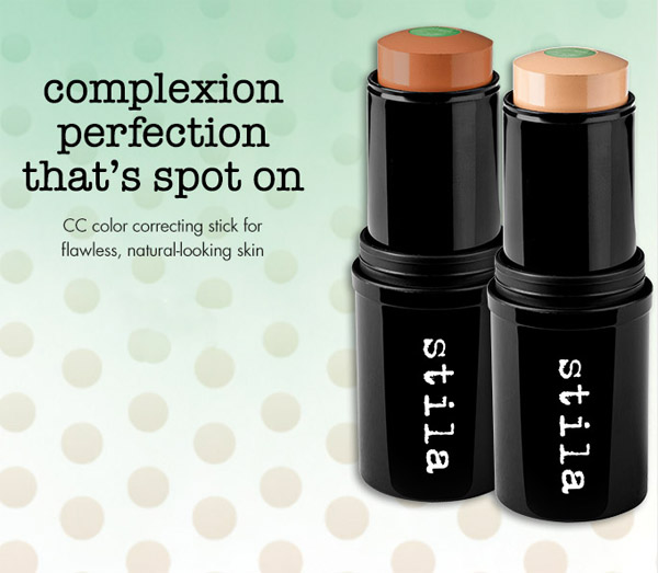 Stila CC Color Correcting Stick with SPF 20  promo fall 2013