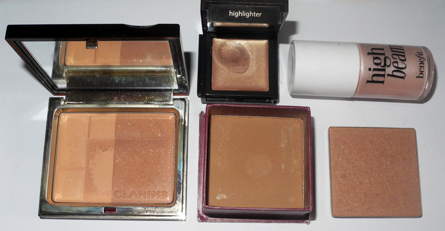 Summer Makeup bronzers and highlighters makeup4all