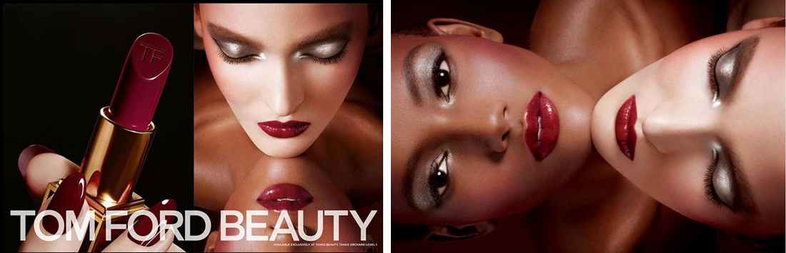 Tom Ford Beauty Autumn Winte 2013 makeup promo