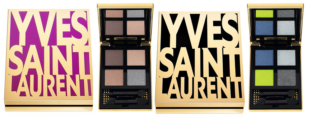 Yves Saint Laurent Makeup Collection for Fall 2013 eye shadows