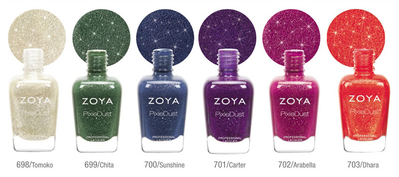 Zoya fall 2013 Pixie Dust  nail polish collection